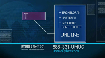 University of Maryland University College TV Spot For Cyber Security Jobs - Thumbnail 4