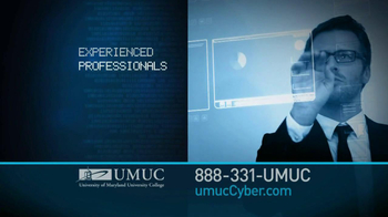University of Maryland University College TV Spot For Cyber Security Jobs - Thumbnail 6