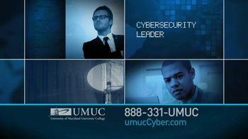 University of Maryland University College TV Spot For Cyber Security Jobs