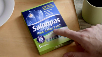 Salonpas TV Spot For Pain Relief Patch