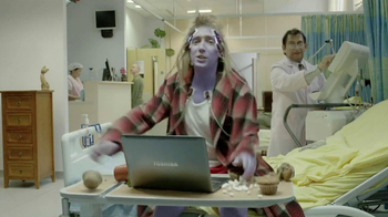 Toshiba Satellite Ultrabook TV Spot, 'Medical Testing'