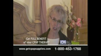 iONMySleep TV Spot For CPAP Replacement