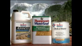 Thompson's Water Seal TV Spot For Wood Protector At Niagara Falls - Thumbnail 5