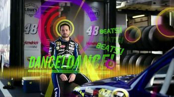 Sprint/Nextel TV Spot For Data Dilemma Techno Featuring Jimmie Johnson