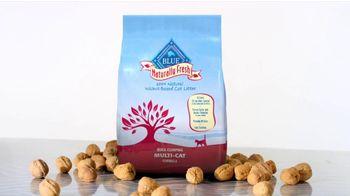 Blue Naturally Fresh Cat Litter TV Spot For Cat Litter Made From Walnuts - Thumbnail 1