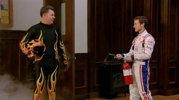 Farmers Insurance TV Spot For Fire Suit Featuring Kasey Kahne - Thumbnail 10