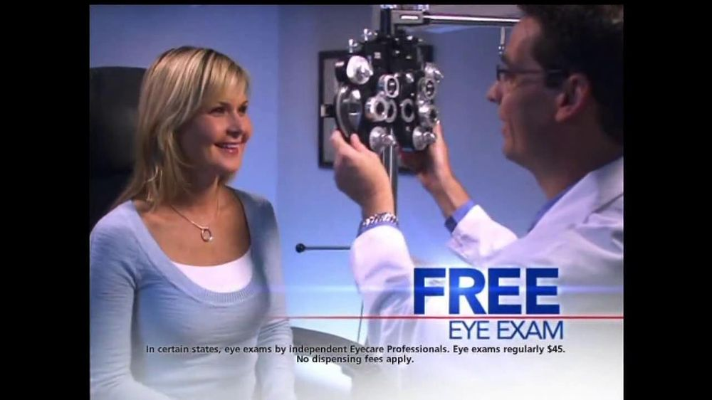 Pairs Of Glasses And Eye Exam