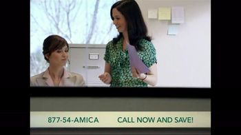 Amica Mutual Insurance Company TV Spot, 'Agent and Client'