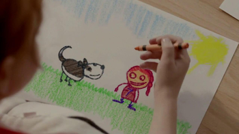 Purina TV Spot Total Care Nutrition TV Spot, 'Kid Drawing: Soccer'