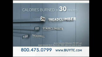 Bowflex TreadClimber TV Spot, 'Letter' - Thumbnail 4