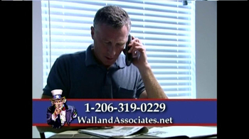 Wall And Associates TV Spot For IRS Trouble