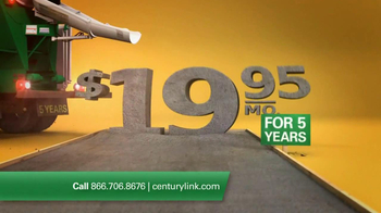 CenturyLink TV Spot For High Speed Internet