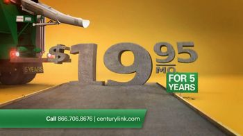 CenturyLink TV Spot For High Speed Internet