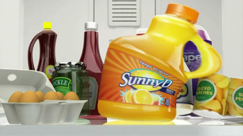 Sunny Delight TV Spot For Squeeze Bottle - Thumbnail 1