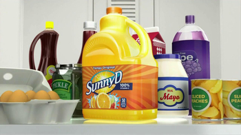 Sunny Delight TV Spot For Squeeze Bottle - Thumbnail 3