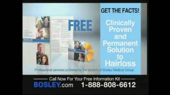 Bosley TV Spot For Permanent Solution To Hair Loss - Thumbnail 5