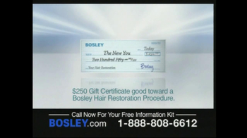 Bosley TV Spot For Permanent Solution To Hair Loss - Thumbnail 6