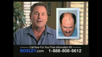 Bosley TV Spot For Permanent Solution To Hair Loss