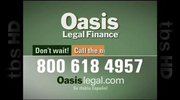 Oasis Legal Finance TV Spot, 'Customer Testimonials' - Thumbnail 10