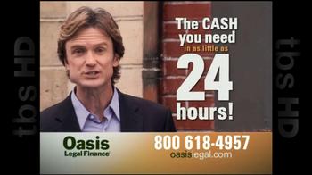 Oasis Legal Finance TV Spot, 'Customer Testimonials' - Thumbnail 5