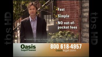 Oasis Legal Finance TV Spot, 'Customer Testimonials' - Thumbnail 7