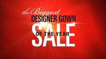 David's Bridal TV Spot For Deisgner Gown Sale - Thumbnail 1