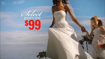 David's Bridal TV Spot For Deisgner Gown Sale - Thumbnail 4