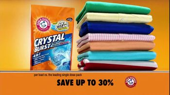 Arm and Hammer TV Spot For Crystal Burst With OxiClean