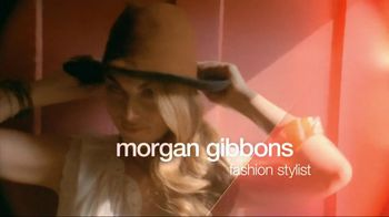 TJ Maxx TV Spot For Designer Clothes For Less Featuring Morgan Gibbons