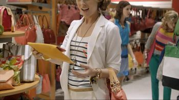 TJ Maxx TV Spot For Designer Clothes For Less Featuring Morgan Gibbons - Thumbnail 4
