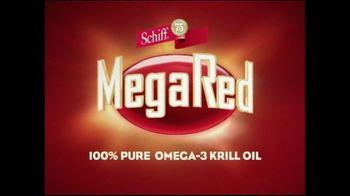 Schiff TV Spot For MegaRed Krill Oil