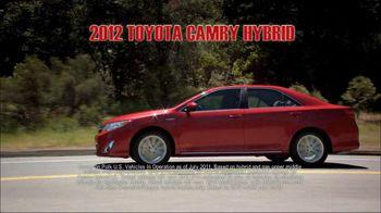Toyota TV Spot, 'Fuel-Efficient Hybrid Cars' - Thumbnail 2