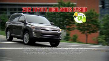 Toyota TV Spot, 'Fuel-Efficient Hybrid Cars' - Thumbnail 3