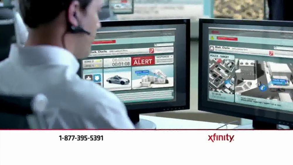 Comcast TV Commercial For Xfinity Home Monitoring System