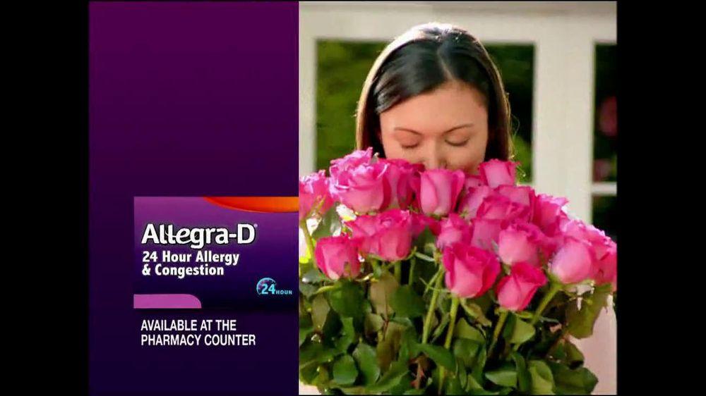 Allegra-D TV Commercial, 'Smells'