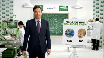 Capital One Cash Rewards, 'Baby Bear' Featuring Jimmy Fallon - 1 commercial airings