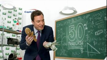 Capital One Cash Rewards, 'Baby Bear' Featuring Jimmy Fallon - Thumbnail 6