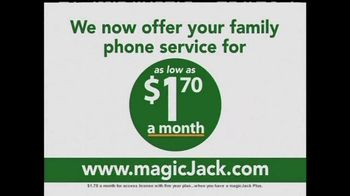 magicJack Plus TV Spot, 'Family Phone Plan Only $1.70' - Thumbnail 1