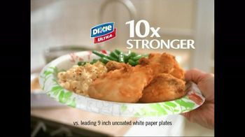 Dixie Ultra TV Spot, 'Sturdiest for Your Messiest'
