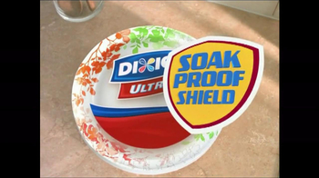 Dixie Ultra TV Spot, 'Sturdiest for Your Messiest' - Thumbnail 8