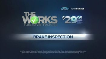 Ford Service TV Spot, 'The Works' Featuring Mike Rowe - Thumbnail 5