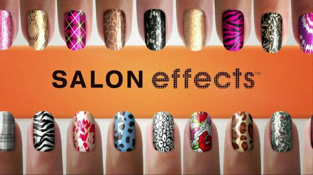 Sally Hansen TV Commercial For Salon Effects Nail Polish Strips ...
