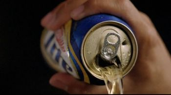 Miller Lite Punch Top Can TV Spot, 'Crack It, Punch It' Song by The Heavy - Thumbnail 4