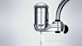PUR Water Filtration Systems TV Spot For Pur