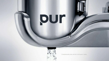 PUR Water Filtration Systems TV Spot For Pur Water