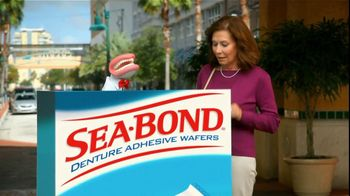 Sea Bond TV Spot For Denture Adhesive Wafers - 743 commercial airings