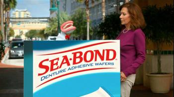 Sea Bond TV Spot For Denture Adhesive Wafers - Thumbnail 1