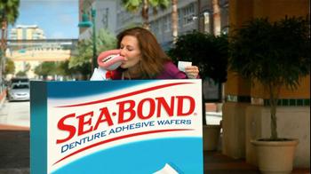 Sea Bond TV Spot For Denture Adhesive Wafers - Thumbnail 5
