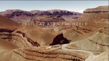 Cadillac ATS vs. The World TV Spot, 'Sahara Desert Sandstorm' - 36 commercial airings
