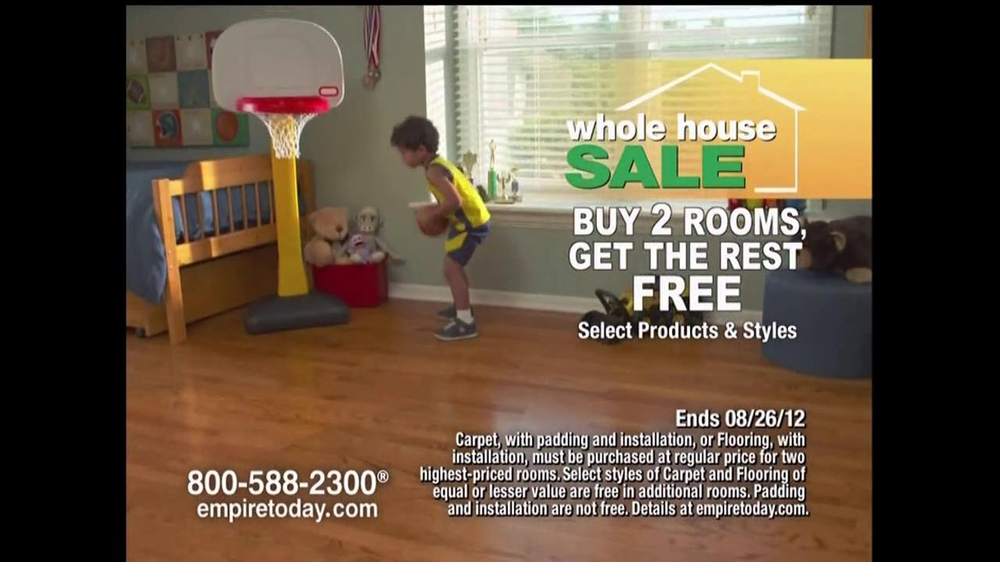 Super Empire Today Tv Commercial For Empires Whole House Sale Video Complete Home Design Collection Barbaintelli Responsecom